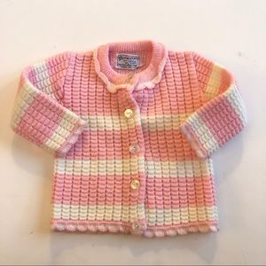 Vintage cradle knit sweater